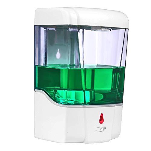 L&Z Automatische Seifenspender 300ml,Sensor Seifenspender mit Wasserdichter Basis,Edelstahl...