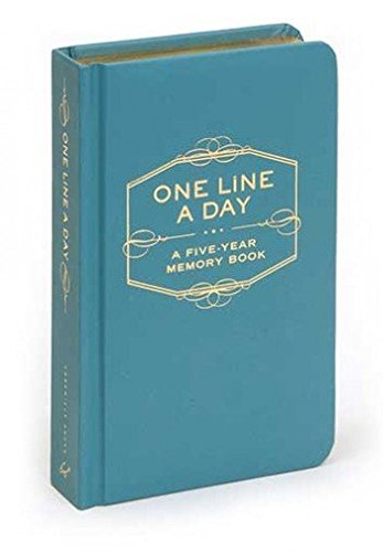 Descargar Libro [(One Line a Day : A Five Year Memory Book)] [Author: Chronicle Books] published on (March, 2015) de Chronicle Books