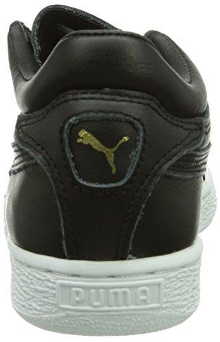 Puma Stepper Classic Citi Series, Unisex High-top Sneaker-adult Black (schwarz (black 01))