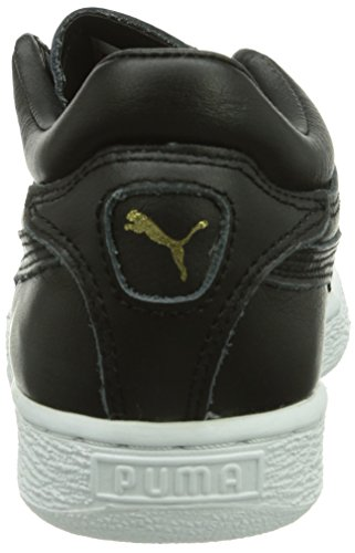 Puma Stepper Classic Citi Series Unisex-Erwachsene Hohe Sneakers Schwarz (Black 01)