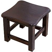 Hocker - Schuhbank Haushalts-Fester hölzerner Kaffee-Tabellen-Schemel, Erwachsener Kleiner Quadratischer Schemel-Niedriger Schemel, 29.5 * 29.5 * 25.5cm (Farbe : C) preisvergleich bei kinderzimmerdekopreise.eu