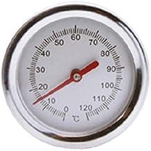 ToGames-ES Detector de sonda de Metal de Acero Inoxidable de termómetro de Suelo de