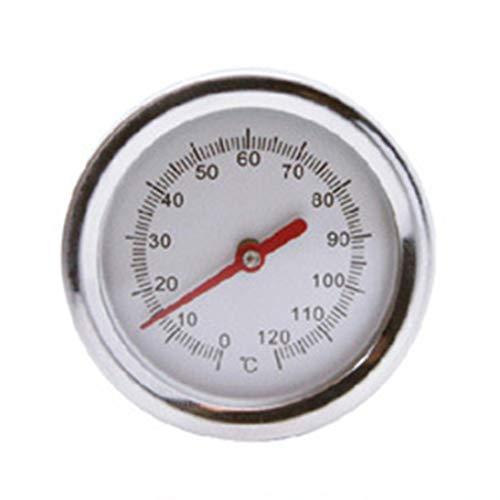 ToGames-DE 20-Zoll-Kompost Soil-Thermometer Premium-Edelstahl-Metall-Sonde-Detektor (Edelstahl-kompost-thermometer)