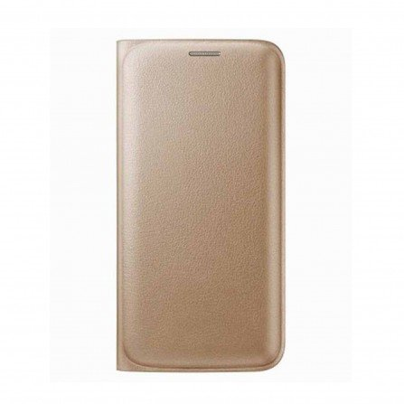 Flip cover for Samsung Galaxy J2 2016( Leather Flip Cover Gold )