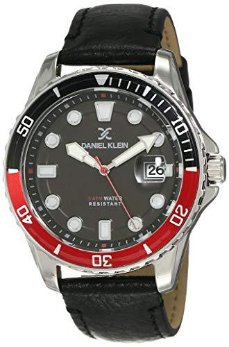 Daniel Klein Analog Black Dial Men's Watch-DK12121-2