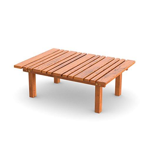 Ampel 24, Table décorative, Table Basse pour Jardin, Balcon ou terrasse | Meuble de Jardin en Bois | 33cm de Hauteur
