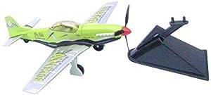 Richmond Toys 111152 Airshow Aviator - Juguete Fundido, Color Verde y Plateado