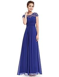 Ever Pretty Damen Lange Elegantes Abendkleid Festkleider 44 Saphirblau fd19e7be17