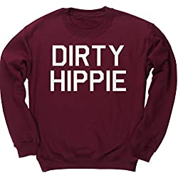HippoWarehouse Dirty Hippie jersey sudadera suéter derportiva unisex niños niñas