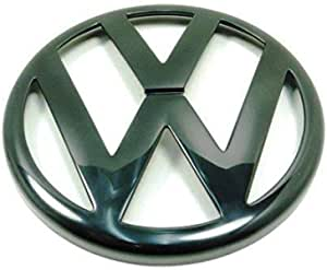 Volkswagen 1j0853601a041 Vw Zeichen Emblem Schwarz Logo Kühlergrill Vorn Nur Für Golf 4 Typ 1j Auto