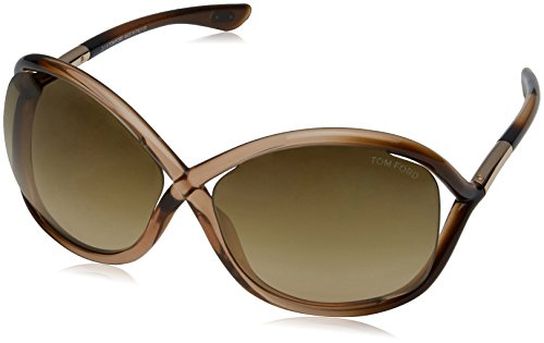 Tom Ford Damen FT0009 74F 64 Sonnenbrille, Pink (Rosa/Altro/Marrone Grad),