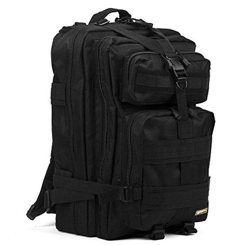 Imagen de eyourlife rfid  militar táctica molle para acampada camping senderismo deporte backpack de asalto patrulla para hombre mujer 40l negro