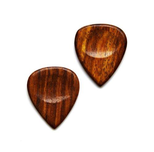 Holz Gitarre Plektrum Manschettenknöpfe–Geschenk für Musiker–Geschenk für Lehrer–Geschenk-Box enthalten