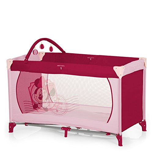 Preisvergleich Produktbild Hauck Dream'n Play V-Minnie Pink II Reisebett, Spielbogen, bunt, Disneymotiv - pink