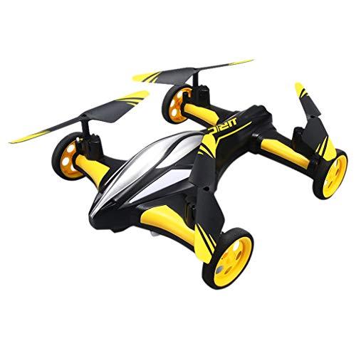 CarJTY  Fliegende Autos Quadcopter Auto Fernbedienung Auto und RC Quadcopter Fernbedienung Drohne Fliegende Fahrzeuge 2019 Dual-Mode-Land-to-Air-Flugzeuge mit Drohne mit EIN-Knopf-Fernbedienung