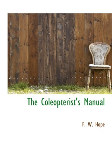 The Coleopterist's Manual