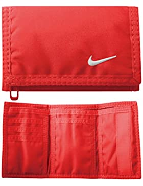 Nike Basic Billetero, Rojo/Blanco, S