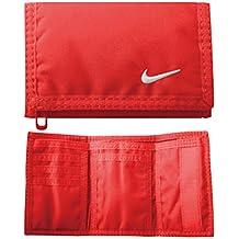 77a2c5dd7d Nike base Wallet unisex della borsa del Portafogli Portafogli Rosso chiaro