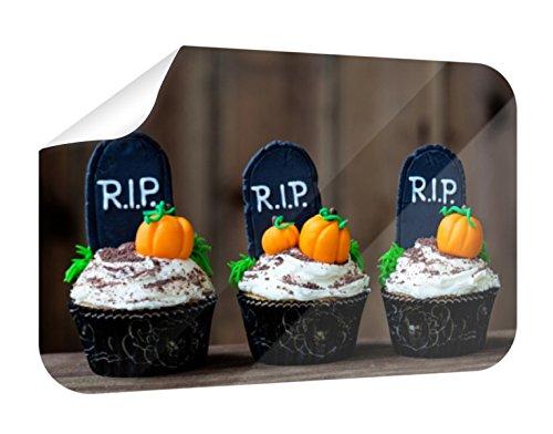Wandbild Halloween Cupcakes B x H: 120cm x 80cm von (Bilder Von Halloween Und Cupcakes Kuchen)