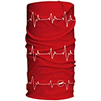 HAD - Bufandas de Pulso Reflectantes de 3 m, Color Rojo, Talla única