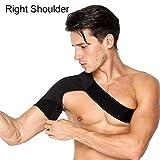 Schulterbandage für AC-Gelenke&Sehnenentzündungen|Schulterstütze zur schmerzlinderung&Schutz vor Verletzungen | Kompressions-Eispackung für die Schulter|Einzelne Schulterstütze für Rotatorenma