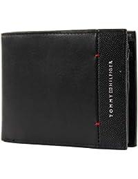 Tommy Hilfiger Th Business Cc Flap And Coin - Portafogli Uomo, Nero (Black), 1x11x13 cm (B x H T)