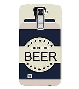 FUSON Sketchy Beer Cans Drink 3D Hard Polycarbonate Designer Back Case Cover for LG K7 :: LG K7 Dual SIM :: LG K7 X210 X210DS MS330 :: LG Tribute 5 LS675