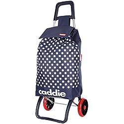 caddie Poussette de marché 50 L LINDY - 2 Roues coloris Marine