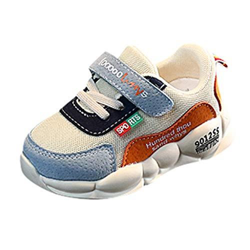 Rokoy Scarpe da Ginnastica Basse Bambini - Natale Scarpe da Corsa/Respirabile Mesh Antiscivolo Running Sneakers Fitness Casual Shoes - Inverno Caldo Morbido Stivaletto Unisex