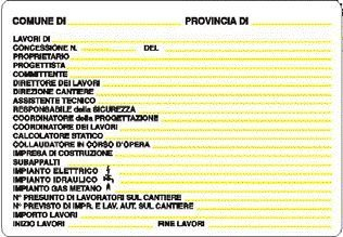 Newsbenessere.com 41GdyEWf3mL Cartello per Cantiere Concessione Edilizia 48 x 68 cm in Pvc Polionda