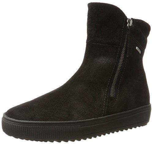 Gabor Shoes Damen Comfort Basic Stiefel, Schwarz (87 Schwarz (Mel.)), 38 EU