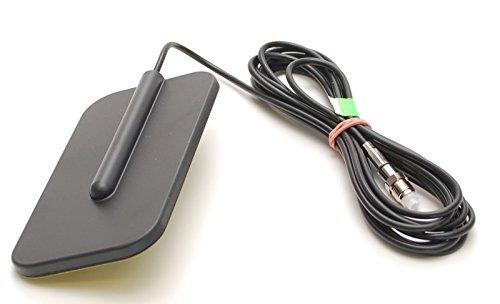 Multiband Klebe- Antenne für LTE, 3G, 4G, GSM, UMTS, Bluetooth, WLAN, WiFi für Glasbefestigung Kabellänge 250cm Steckertyp: FME Female (FME/F)