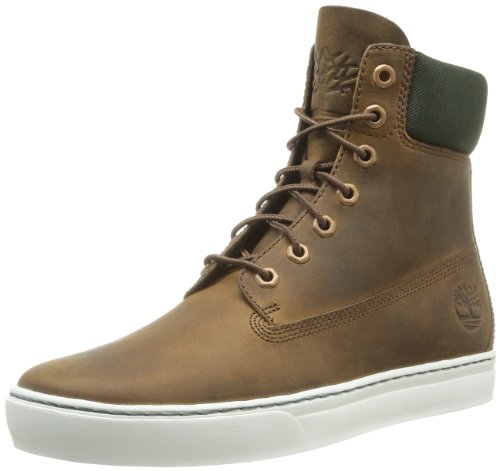 Timberland, 2 0 Cupsole 6In Brow Brown, Stivali, Uomo Gaucho Roughcut Smooth
