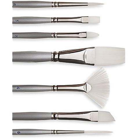 Silver Brush Series 1502S Silverwhite-Pennello con manico