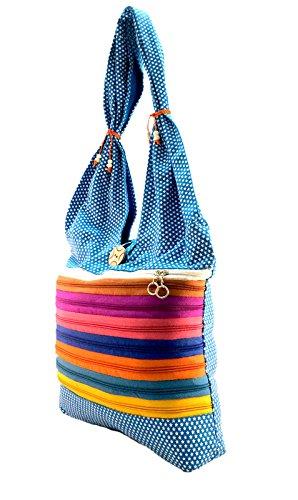 Deal Especial, Borsa a zainetto donna Multi-Coloured M Blue