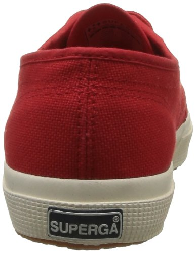 Superga 2750 Cotu Classic, Baskets mixte adulte Rouge (975 Red)