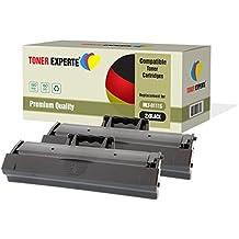 Kit 2 TONER EXPERTE® MLT-D111S Toner compatibili per Samsung Xpress SL-M2020, M2020W, M2021, M2021W, M2022, M2022W, M2026, M2026W, M2070, M2070W, M2070FW, M2070F, M2071, M2071W, M2071FH