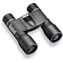 Bushnell PowerView Dachkant Medium FRP - Prismáticos (12 x 32 mm), color negro