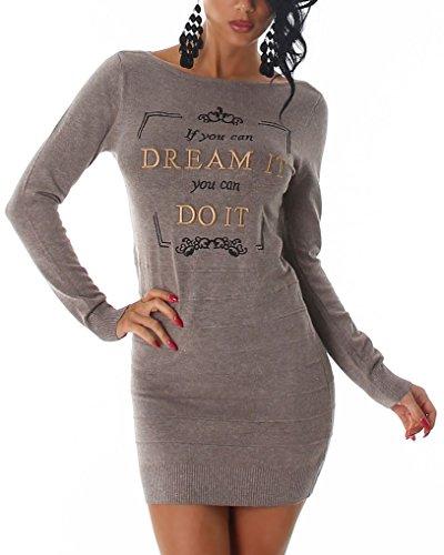LS -  Vestito  - Donna Light Brown