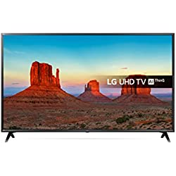 LG 55UK6300PLB 55-Inch UHD 4K HDR Smart LED TV with Freeview Play - Negre (2018 Model)