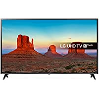 LG 43UK6300PLB 43-Inch UHD 4K HDR Smart LED TV with Freeview Play - Black (2018 Model)