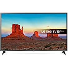 LG 49UK6300PLB 49-Inch UHD 4K HDR Smart LED TV with Freeview Play - Black (2018 Model)
