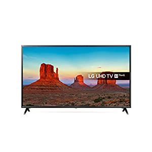 LG 49UK6300PLB UHD 4K HDR Smart LED TV with Freeview Play – Black (2018 Model)