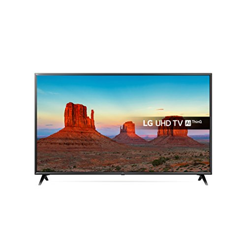 LG 55UK6300PLB 55-Inch UHD 4K HDR Smart LED TV with Freeview Play - Black (2018 Model)