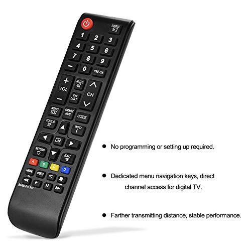 Telecomando universale di alta qualità – Samsung 3D LCD/LED/Plasma TV – Ricambio diretto per tutti i TV Samsung 2008 – 2019 Compact