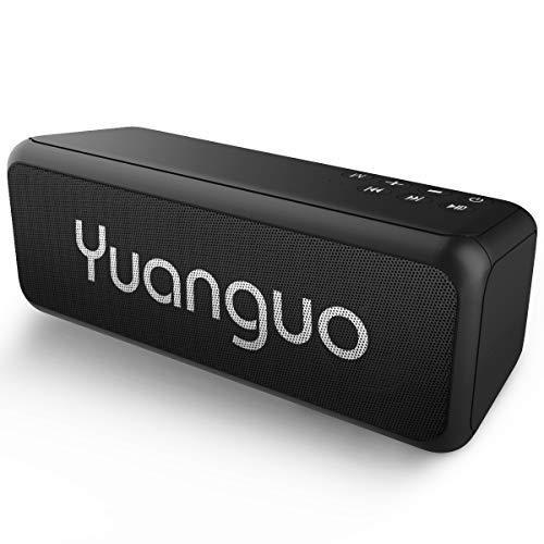 Altavoz Bluetooth portatiles Yuanguo Altavoz con Sonido Estéreo Fuerte, Controladores Duales 12+...