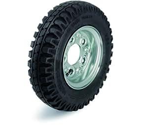 Blickle anflansch de roues avec pneus PA 464/5, diamètre 460mm
