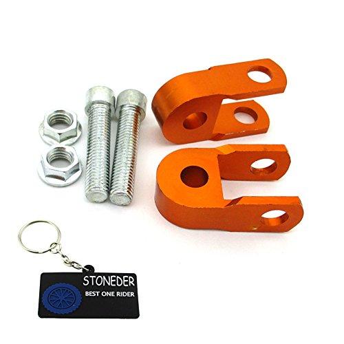 Stoneder naranja CNC aluminio Amortiguador altura