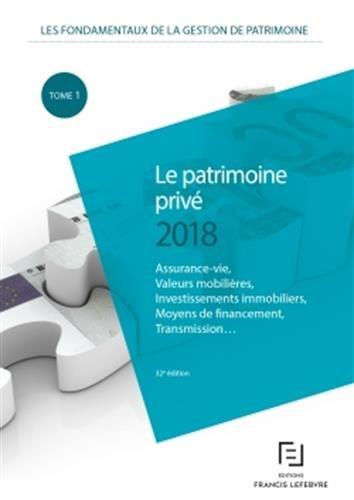PATRIMOINE PRIVE 2018
