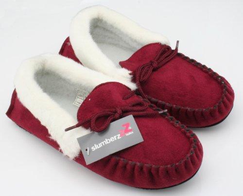 Slumberz, Pantofole donna Rosso (Bordeaux)